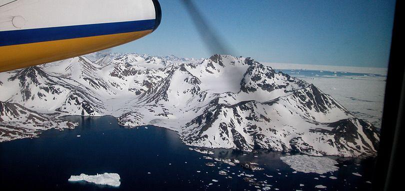 Approaching Greenland