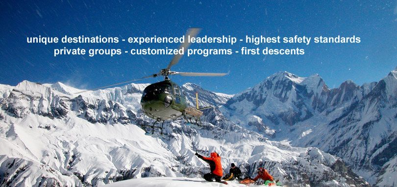 Beyond Boundaries - Heliskiing worldwide